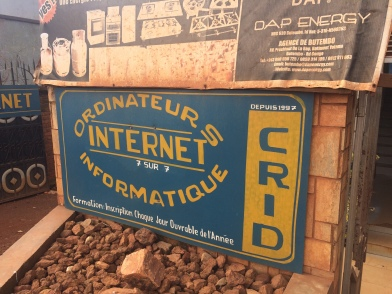 Internet Cafes provide digital literacy training and computer support.
